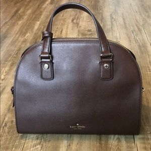 Deep Brown Kate Spade Purse